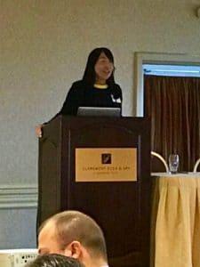 Dr Susan Lim at ISSCR Nucleus Forum